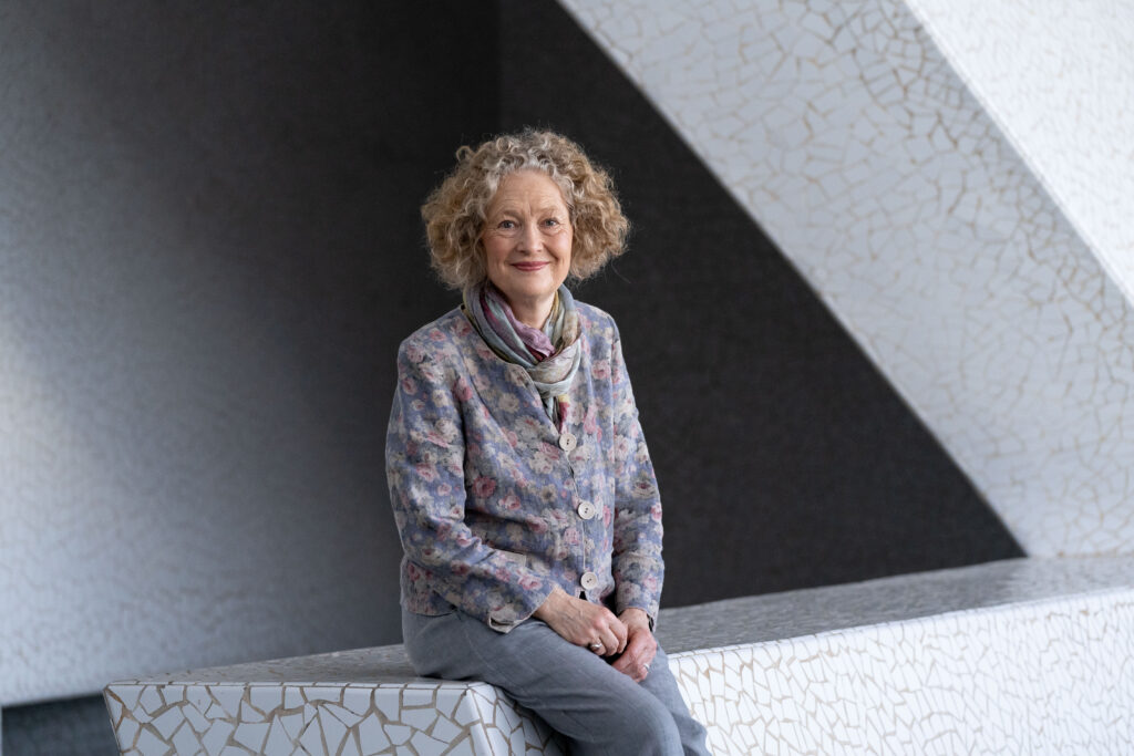 Dame Emma Kirkby by Miguel Barreto.